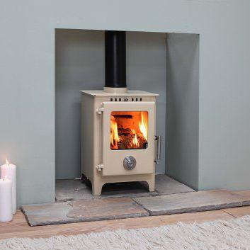 Wood Burning Stove In United Kingdom Heating Fire