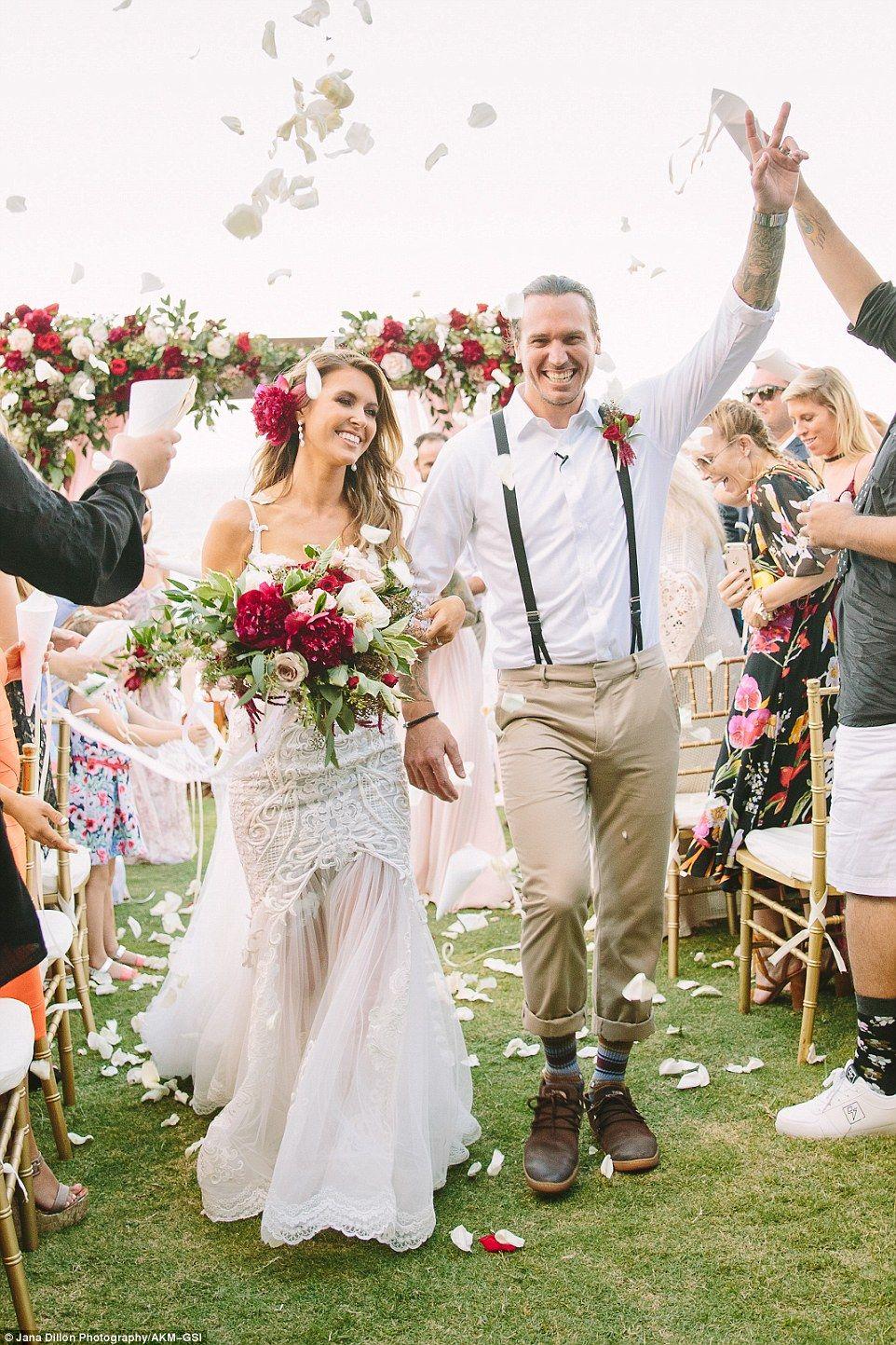Audrina Patridge Weds Corey Bohan In Hawaii