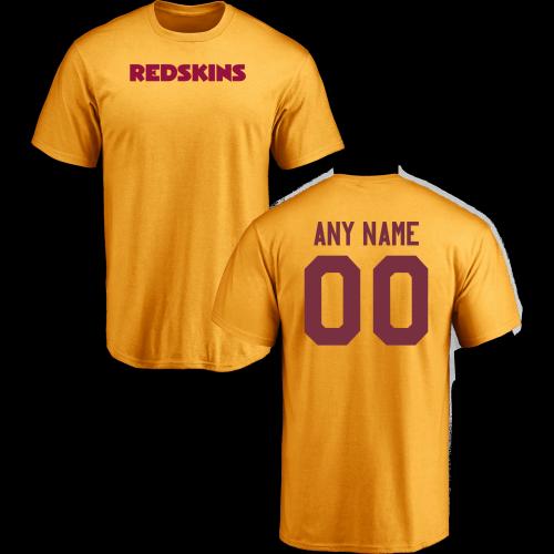863505d1a Men Washington Redskins Design-Your-Own Short Sleeve Custom NFL T-Shirtcheap  nfl jerseys