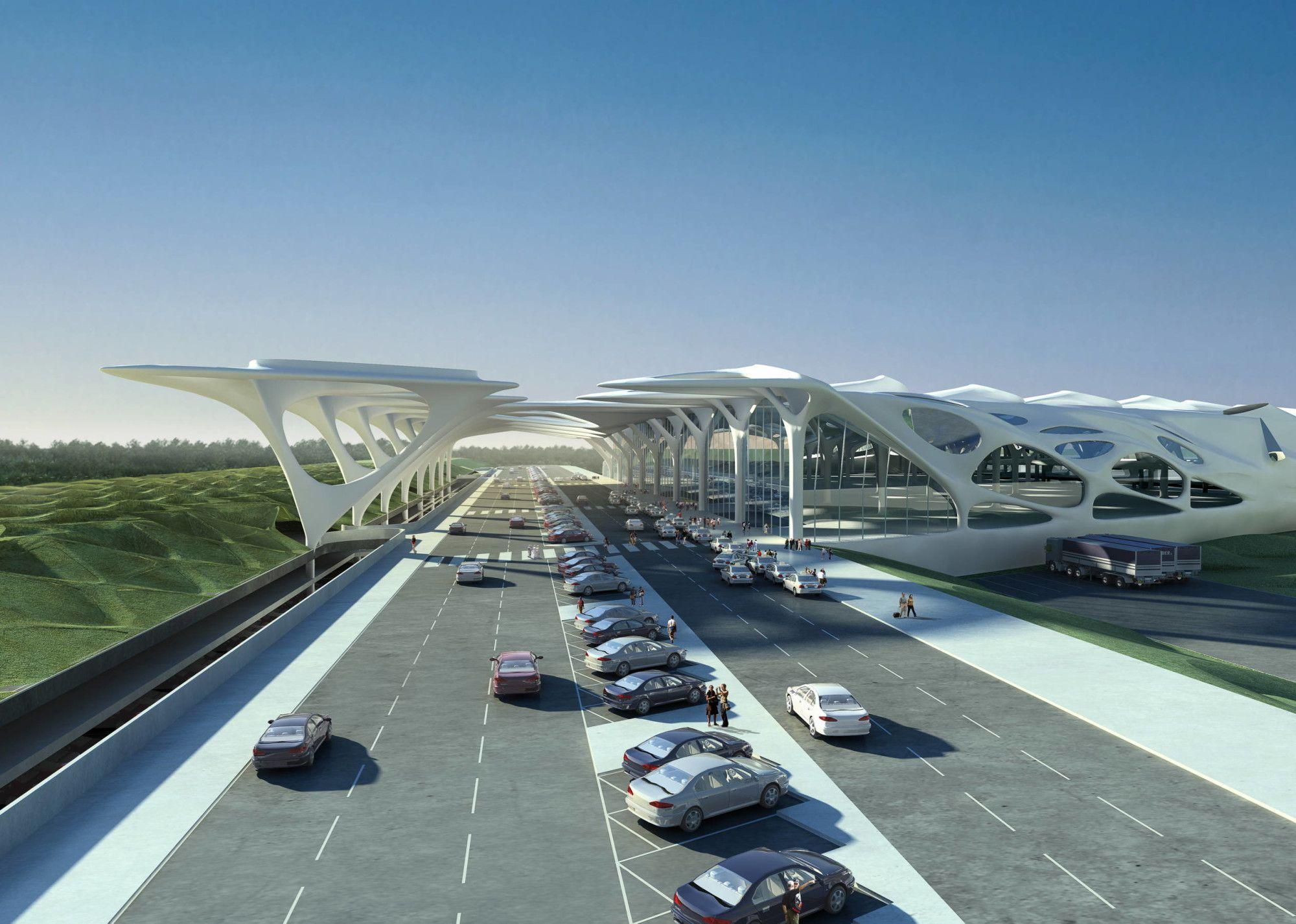 Zagreb Airport Zaha Hadid Architects Arch2o Com Zaha Hadid Architects Zaha Hadid Architecture Zaha Hadid