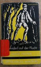 Buch Anderl auf der Flucht Hugo Kocher 1954