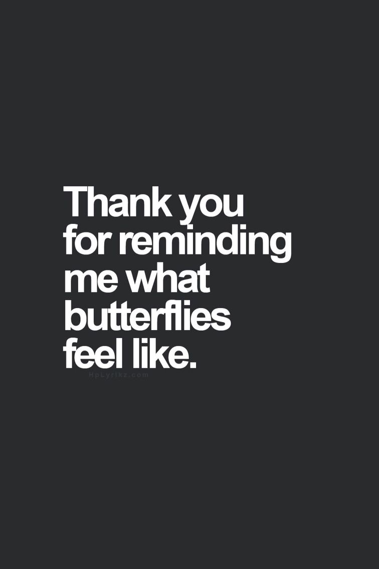 what do butterflies feel like when you like someone