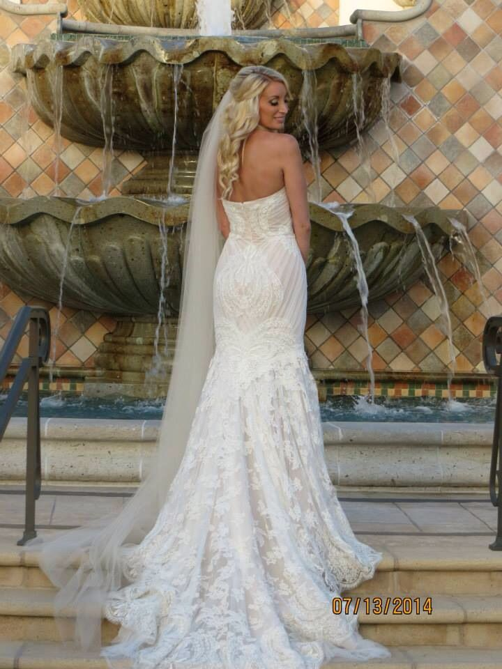 My gorgeous wedding dress - Ines di Santo Amour gown