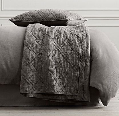 Quilts Coverlets Restoration Hardware Home Sweet Home