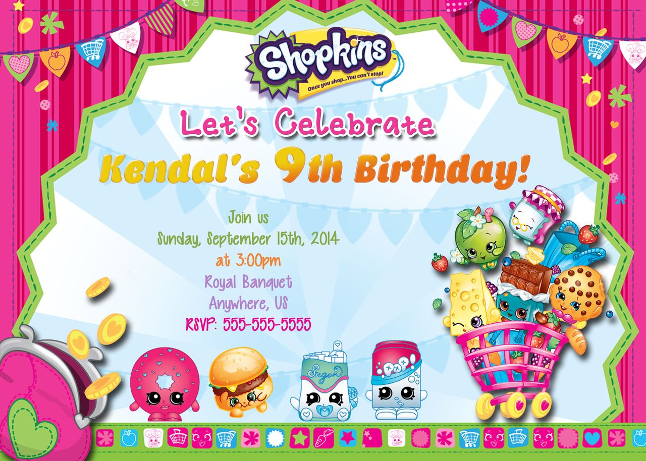 Shopkins Party On Pinterest Birthday Cakes Favors And