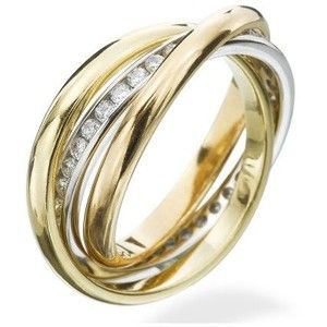 Rolling Ring With Diamonds
