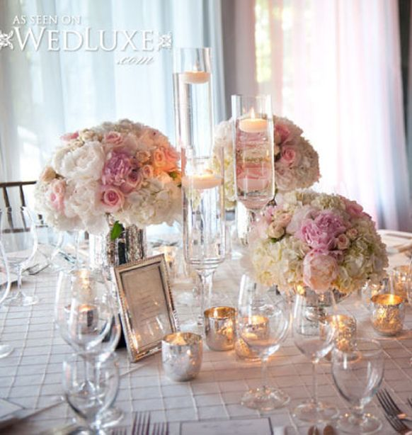 Décoration De Table Mariage Mariageoriginal Wedding Themessilver