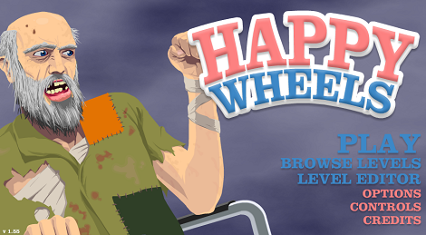 Happy Wheels best free online game. With a slightly