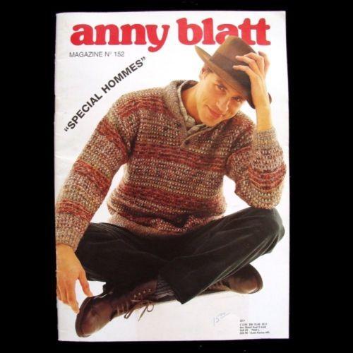 b6dda4763280a1 Patterns-Contemporary 41228  Anny Blatt Magazine  152 - Special Hommes Mens Knitting  Patterns