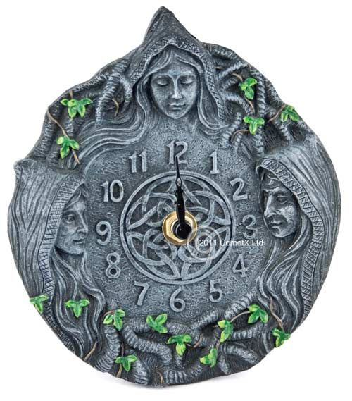 New Age Home Decor: Mother, Maiden, Crone Clock