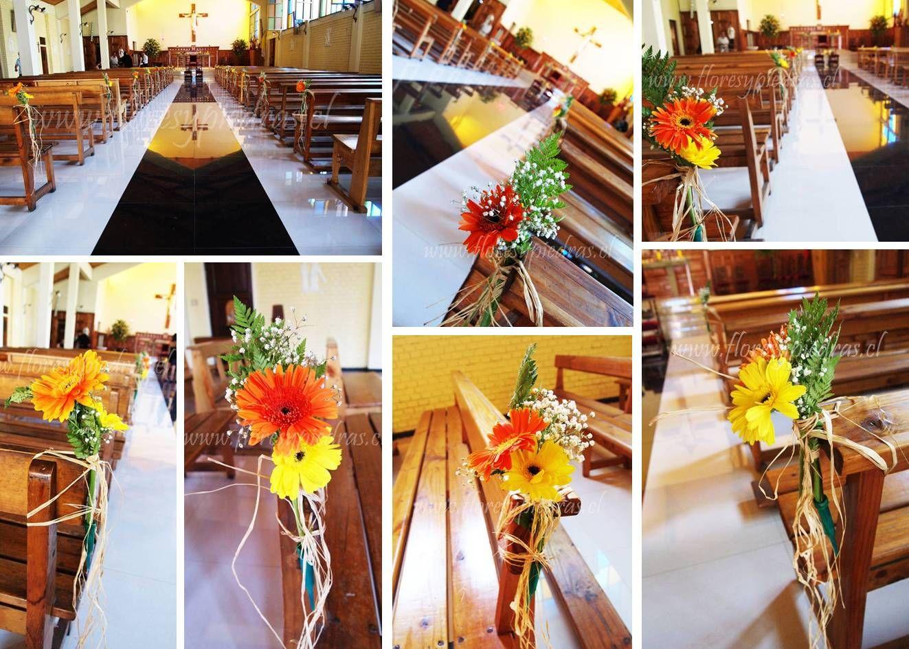 decoracin para bodas flores y piedras