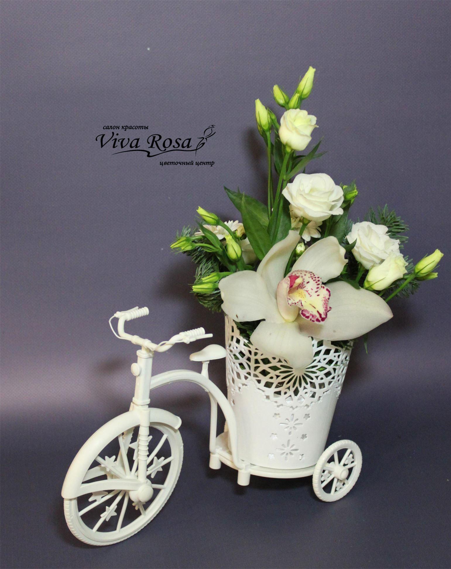 Viva rosa доставка цветов как закрепить живые цветы в прическе
