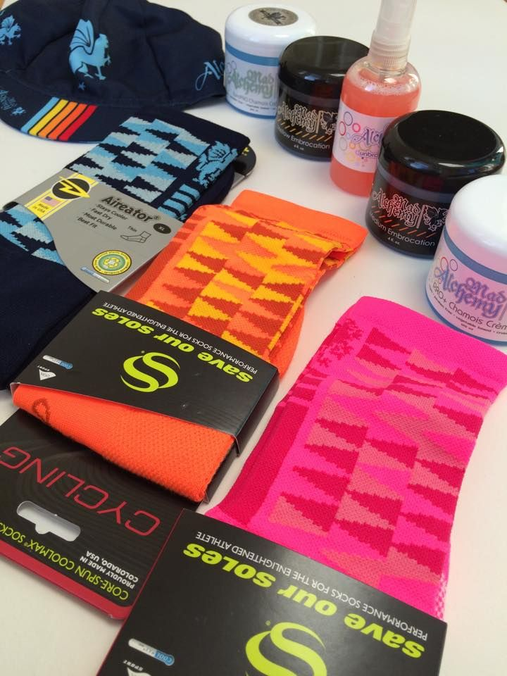 Mad Alchemy's embrocation chamois cream, and softgoods in detail. Spotlight by Matt Surch at teknecycling.com