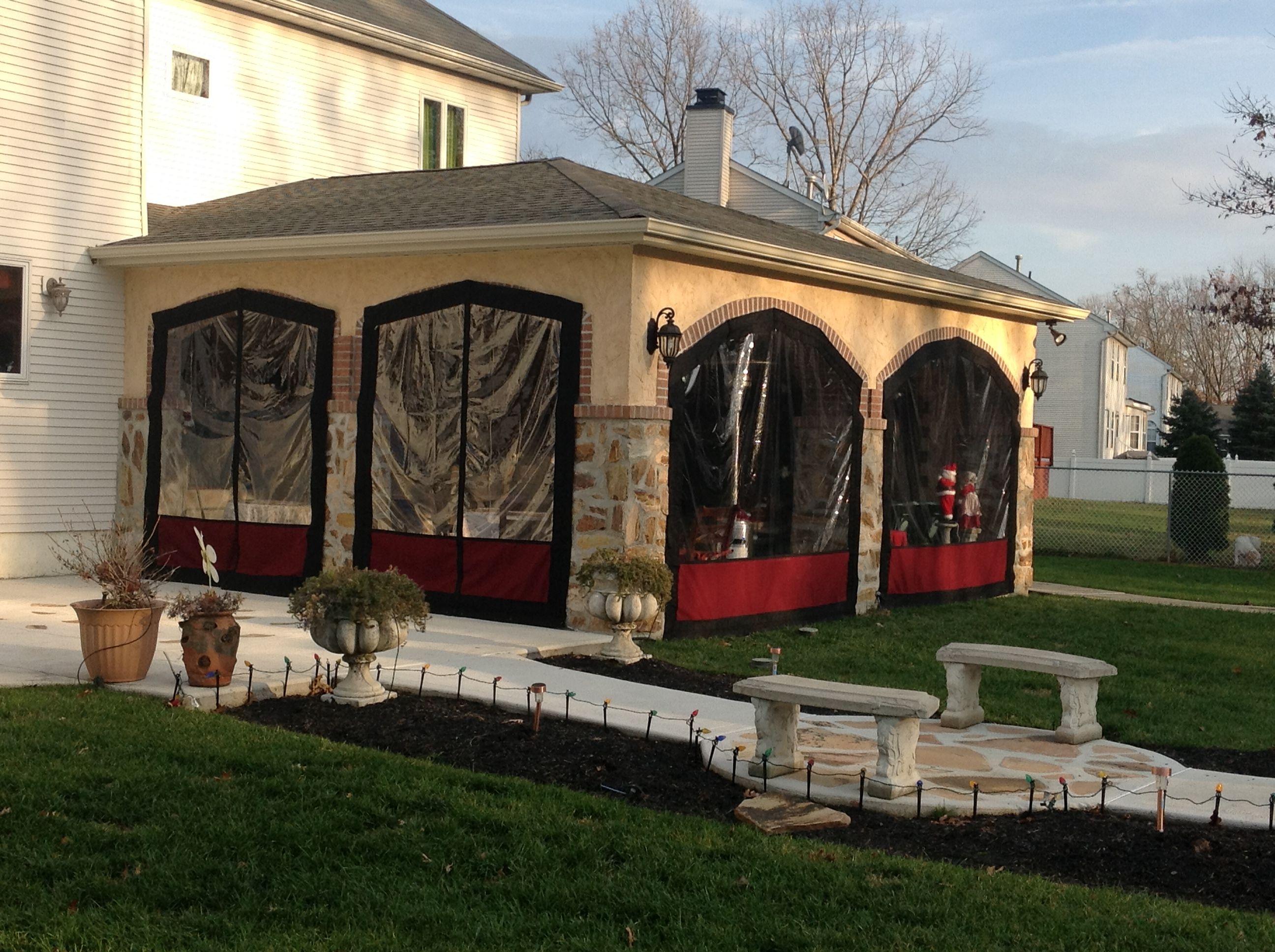 Plastic Patio Enclosures - Patio Ideas on Outdoor Patio Enclosure Ideas  id=38433