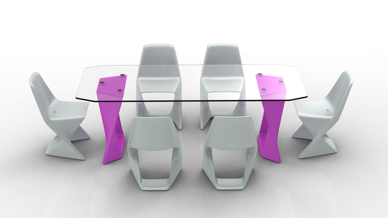 Table et chaises Iso par Cédric Ragot, Qui est Paul ...