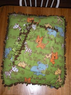 No Sew Fleece Floor Pillow: no sew blanket and floor pillow I just made  )   Posts     fun and Sew,