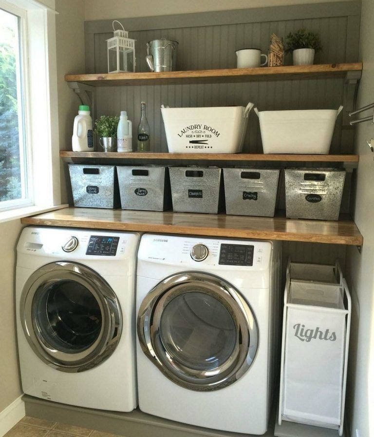Photo of 46 Easy Diy Laundry Room Makeover With Farmhouse Style