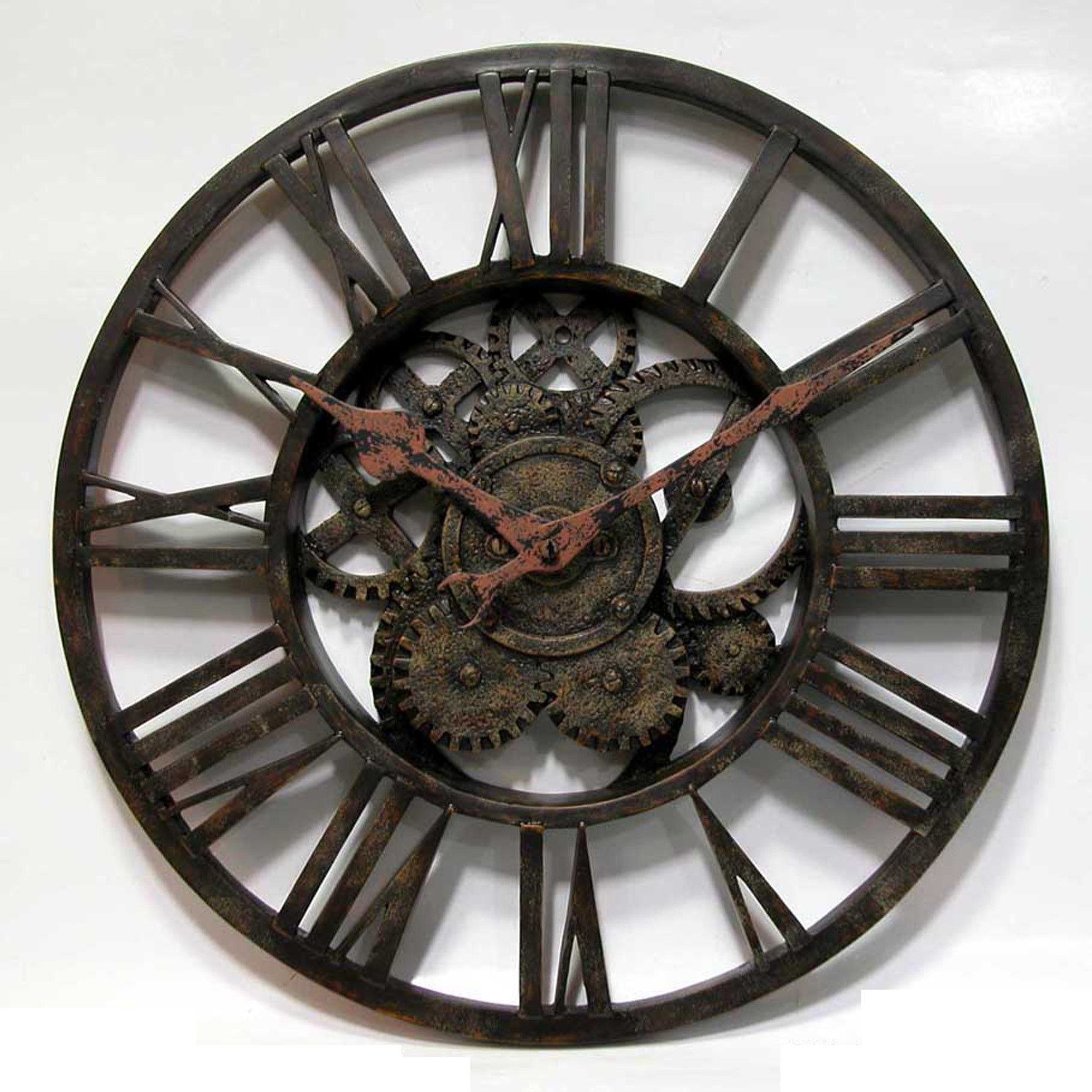 images for wall clock with gears clocks pinterest wall