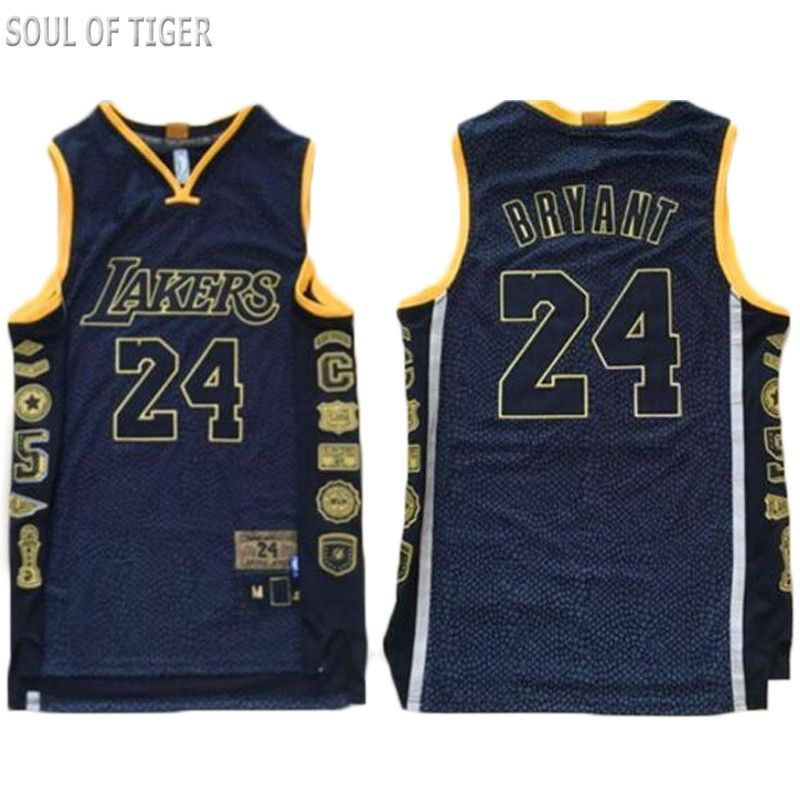 SOUL OF TIGER Special Edition (2017) Kobe Bryant Lakers Jersey ... a5e24e6e9