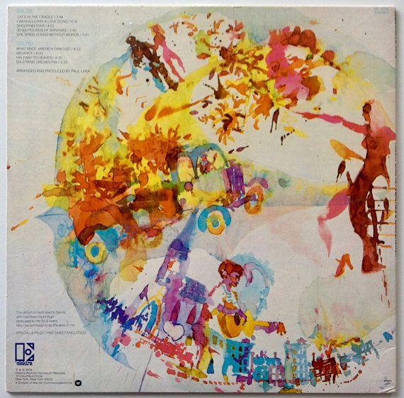Harry Chapin Verities Balderdash Lp Vinyl Record Album Elektra 7e 1012 Folk Rock 1974 Original Pressing Vintage Vinyl Records Chapin Vinyl Record Album