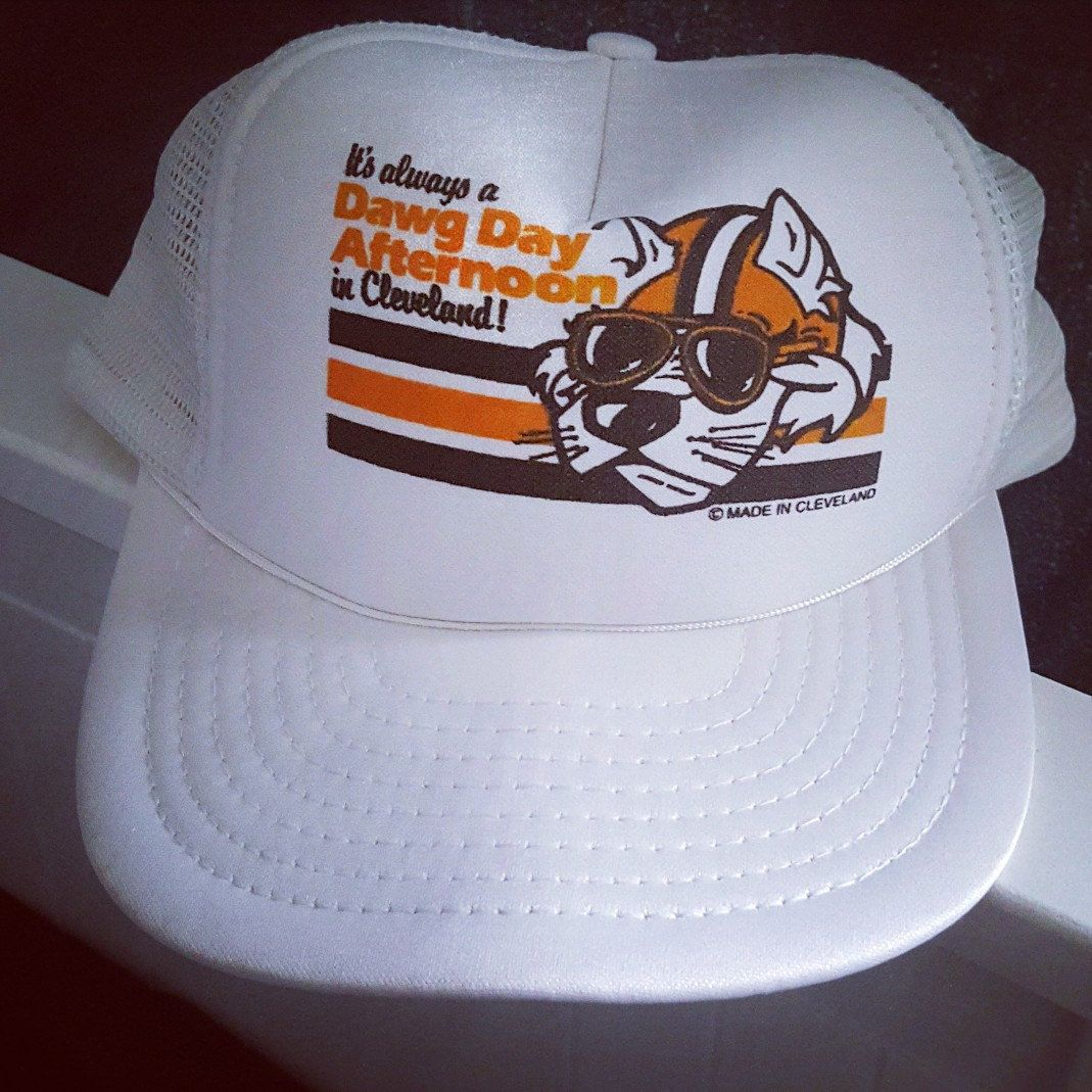 more photos bf6aa bac5e ... orange fitted cap t4h custom 1d553 53f1c  sale retro cleveland browns  dawg pound hat just added madeincleveland dawgpound browns sundayfootball  e3684 ...