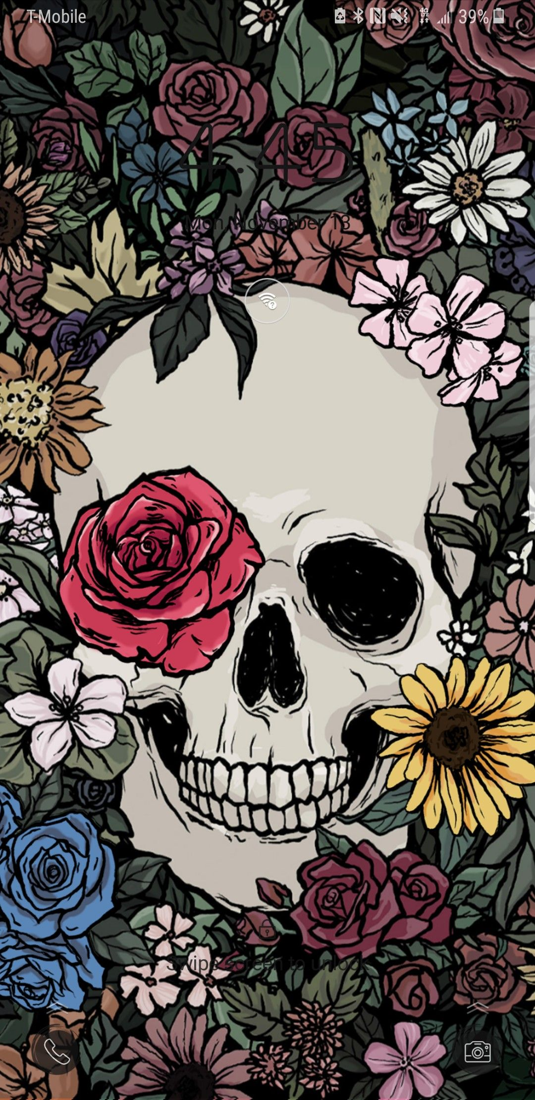 Calavera Skull Wallpaper Skeleton Art Drawings