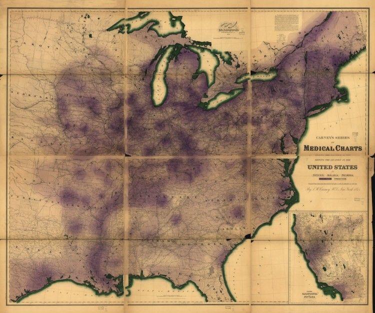 Rheumatism in the US (1874)