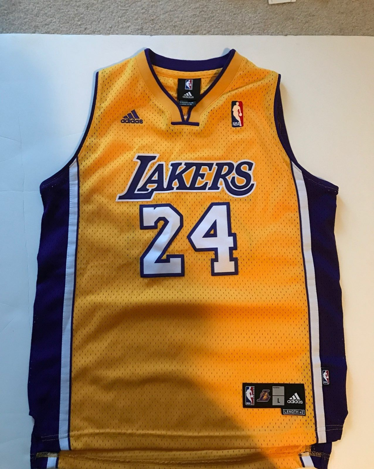 Coby Bryant / Lakers Jersey 24 Bryant lakers, Bryant