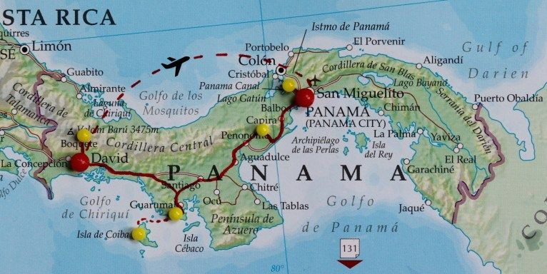 Panama Map of David: The Most Essential David Travel Map for Every Adventure Travel Like a Local