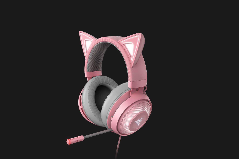 Gaming Headset Razer Kraken Kitty Edition In 2020 Gaming Headset Headset Razer