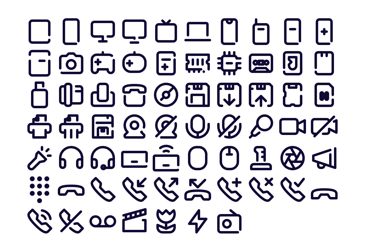 67 Free Device Icons Freebiesbug Icon User Interface Devices