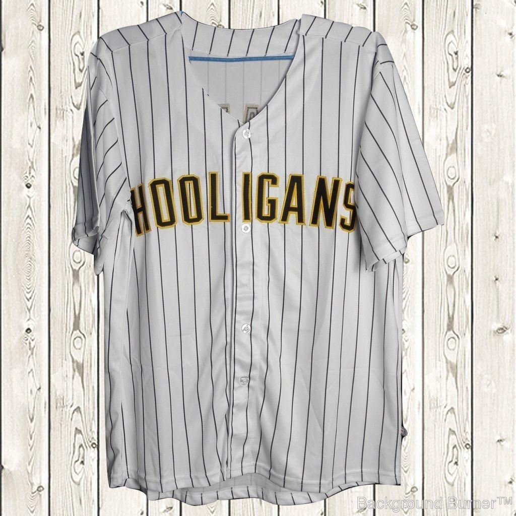 Bruno Mars 24k Hooligans Baseball Jersey Stiched Bet Awards Short Sleeves White Ebay Bruno Mars Shirt Basketball Uniforms Design National Baseball League