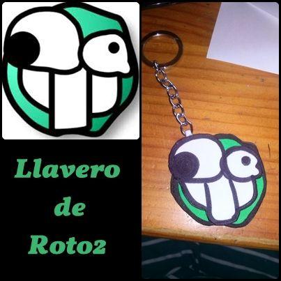 Llavero Roto2
