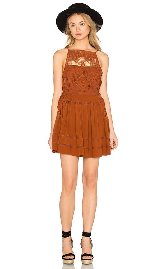 Free People Emily Dress in Copper