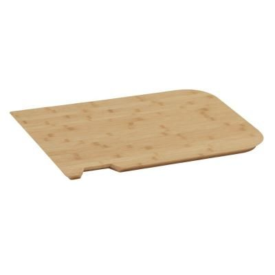 Bamboo Cover for Foremost 24 in. Laundry Vanity Sink
