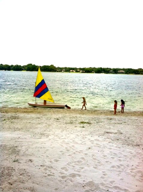 White Sands Beach Tampa Fl Lake Carroll Lost Way Too Many Gles