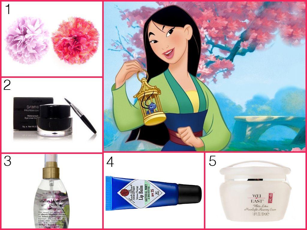 Mulan in 2020 Disney princess makeup, Disney makeup