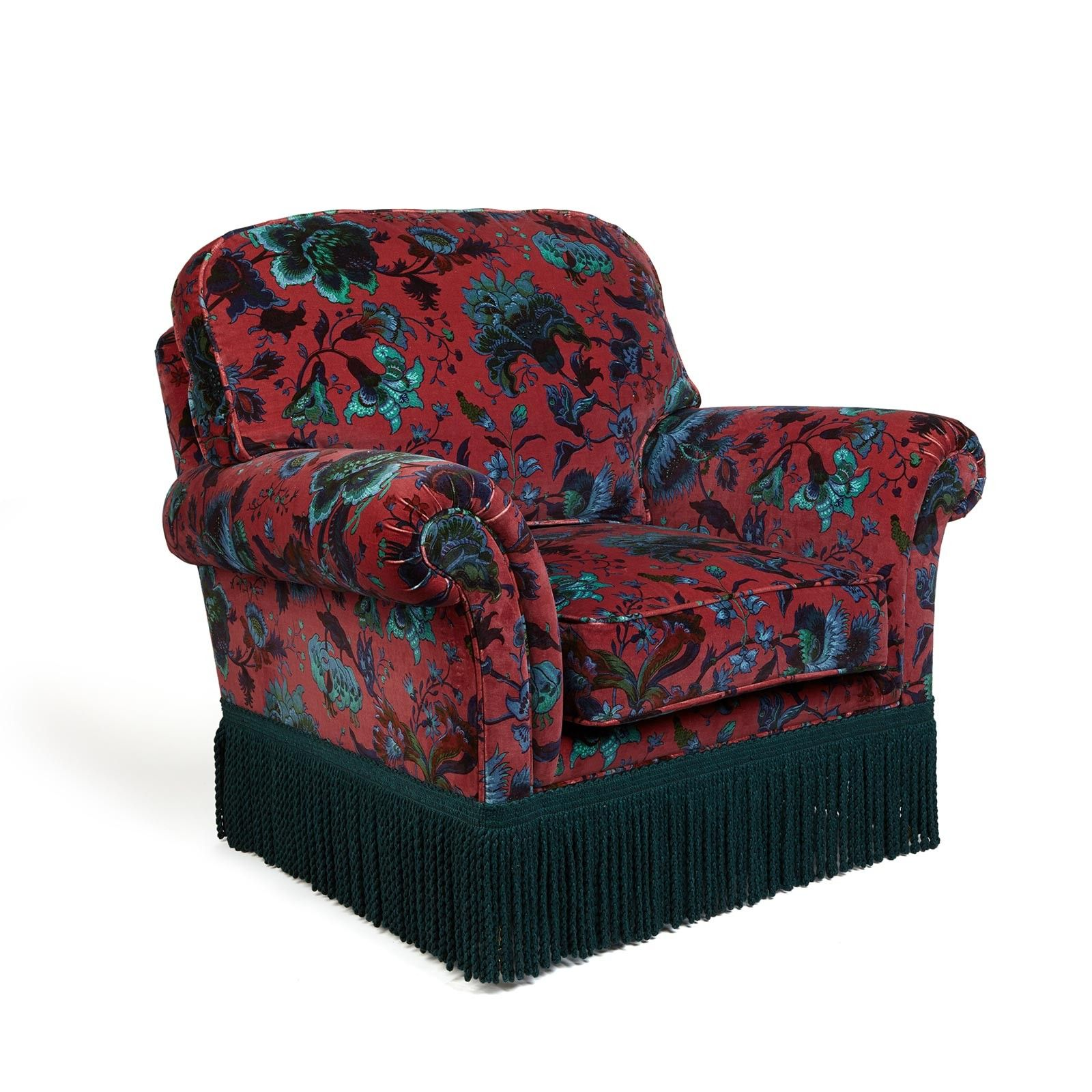 MAJORELLE 'Bartley' Chair ViolaPink Fabric houses