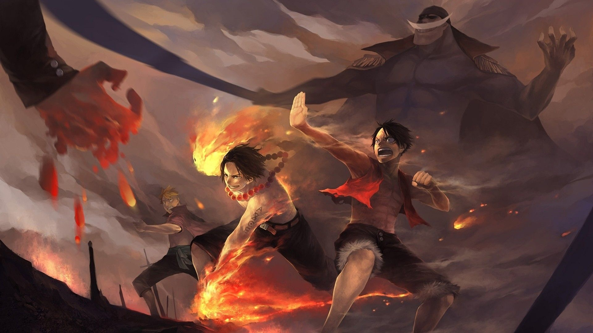 Anime One Piece Portgas D Ace Wallpaper One Piece Ace One Piece Anime Ace And Luffy