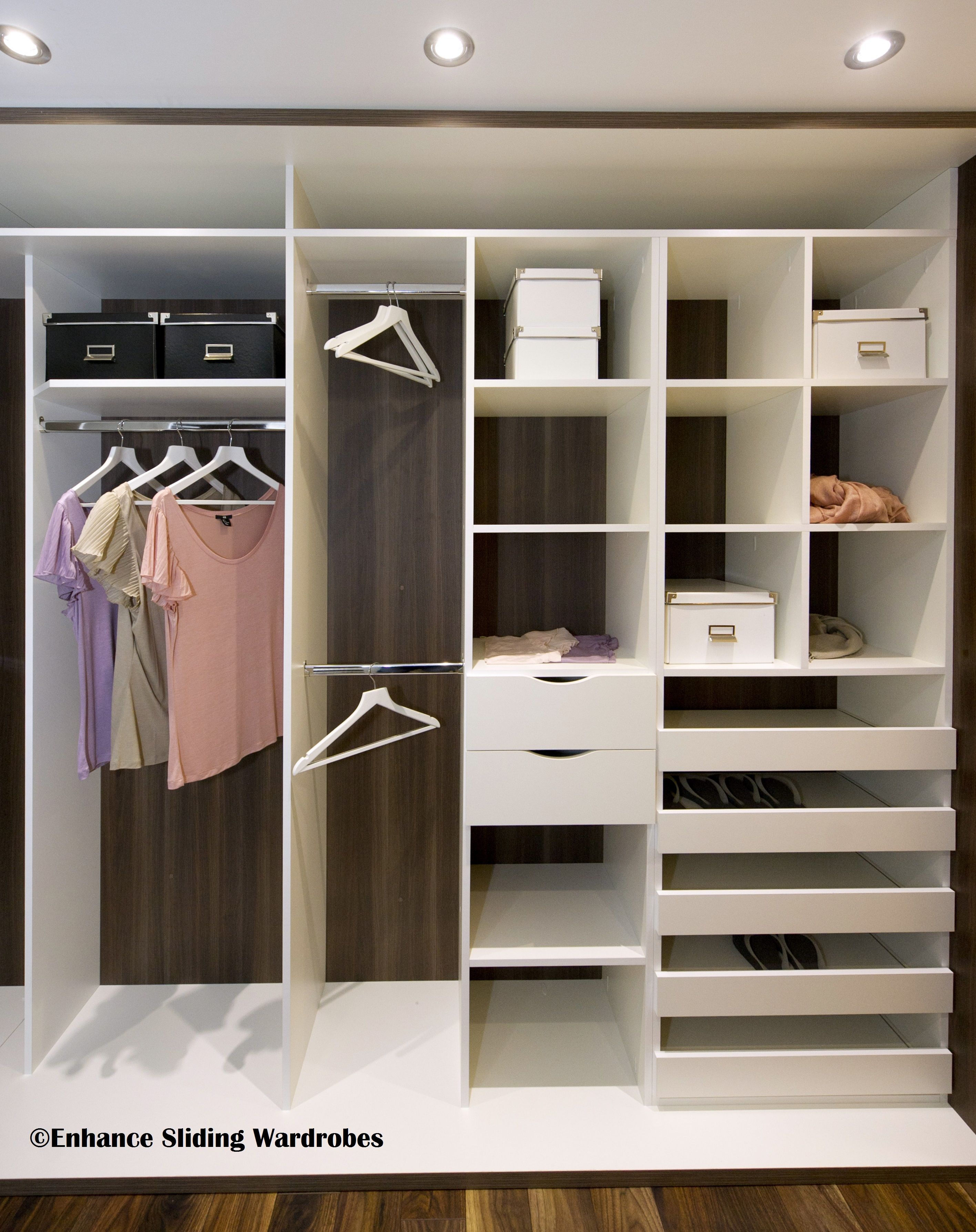 Walk In Wardrobe Closet Wardrobe Storage Designed By