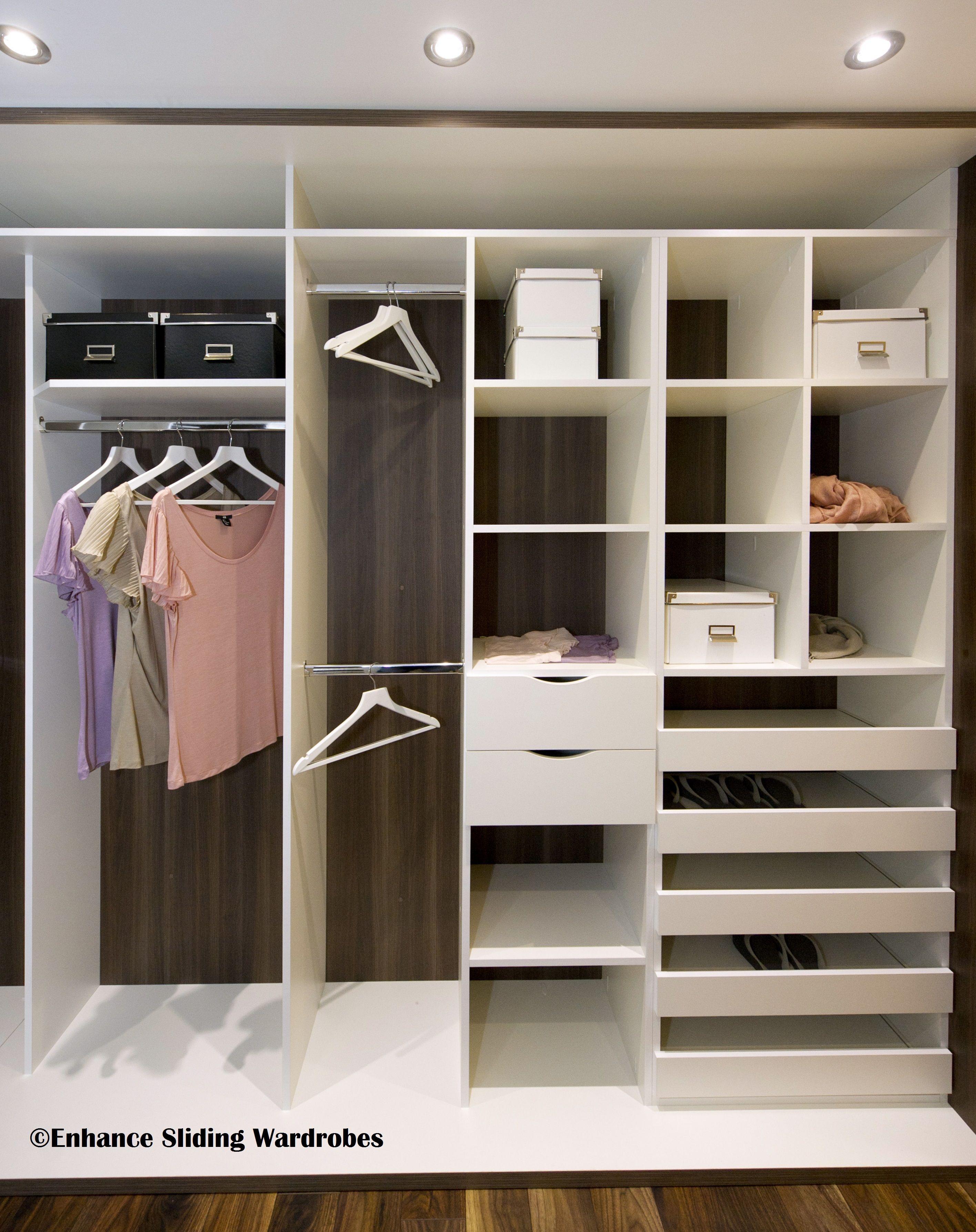 Pin By Andrea On Wardrobe Closet Storage Design Closet Designs Custom Closet Shelving