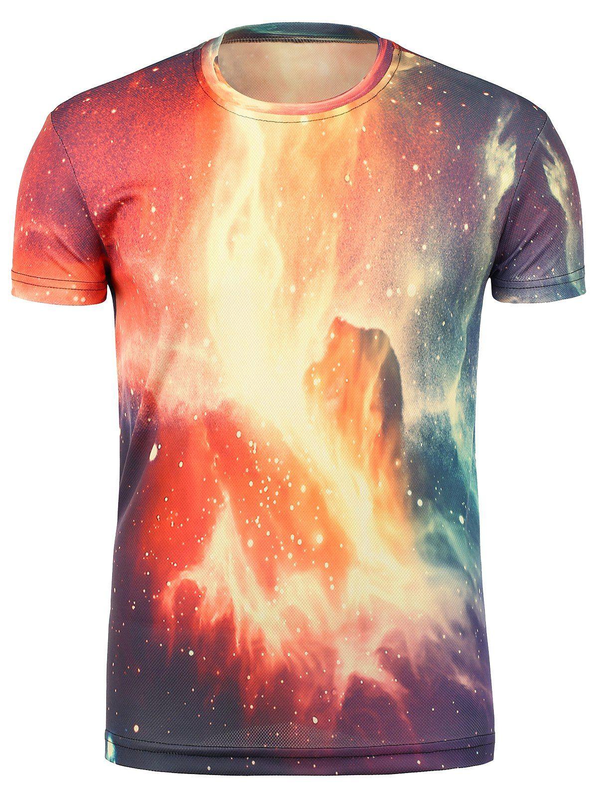 Tie Dye 3d Galaxy Print Trippy T Shirt Httpsammydress