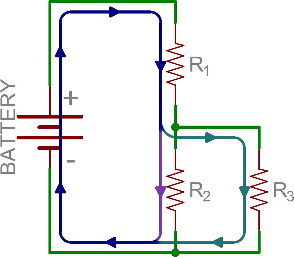 Series And Parallel Circuits Series And Parallel Circuits Electronic Circuit Projects Circuit Drawing