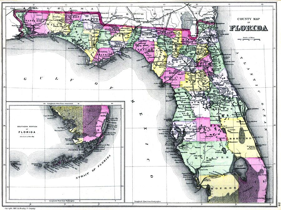South Florida County Map.Maps Of Marion County Florida South Florida County Map Maps