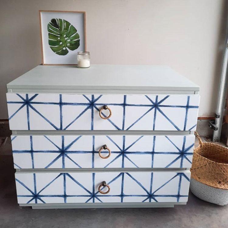 Modern Abstract Peel And Stick Wallpaper In 2021 Paint Dresser Diy Diy Dresser Makeover Wallpaper Furniture