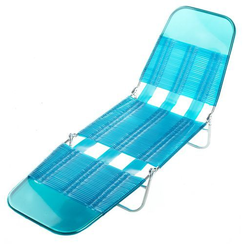 O Rageous Vinyl Strap Lounger Beach Chairs Outdoor Chairs Lounger