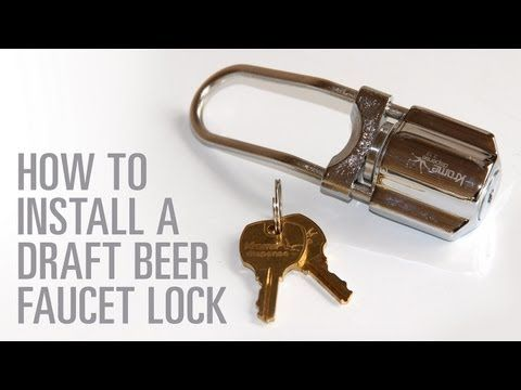 Beer Tap Locks For Your Keg - The Kegerator Source | Bar Area ...