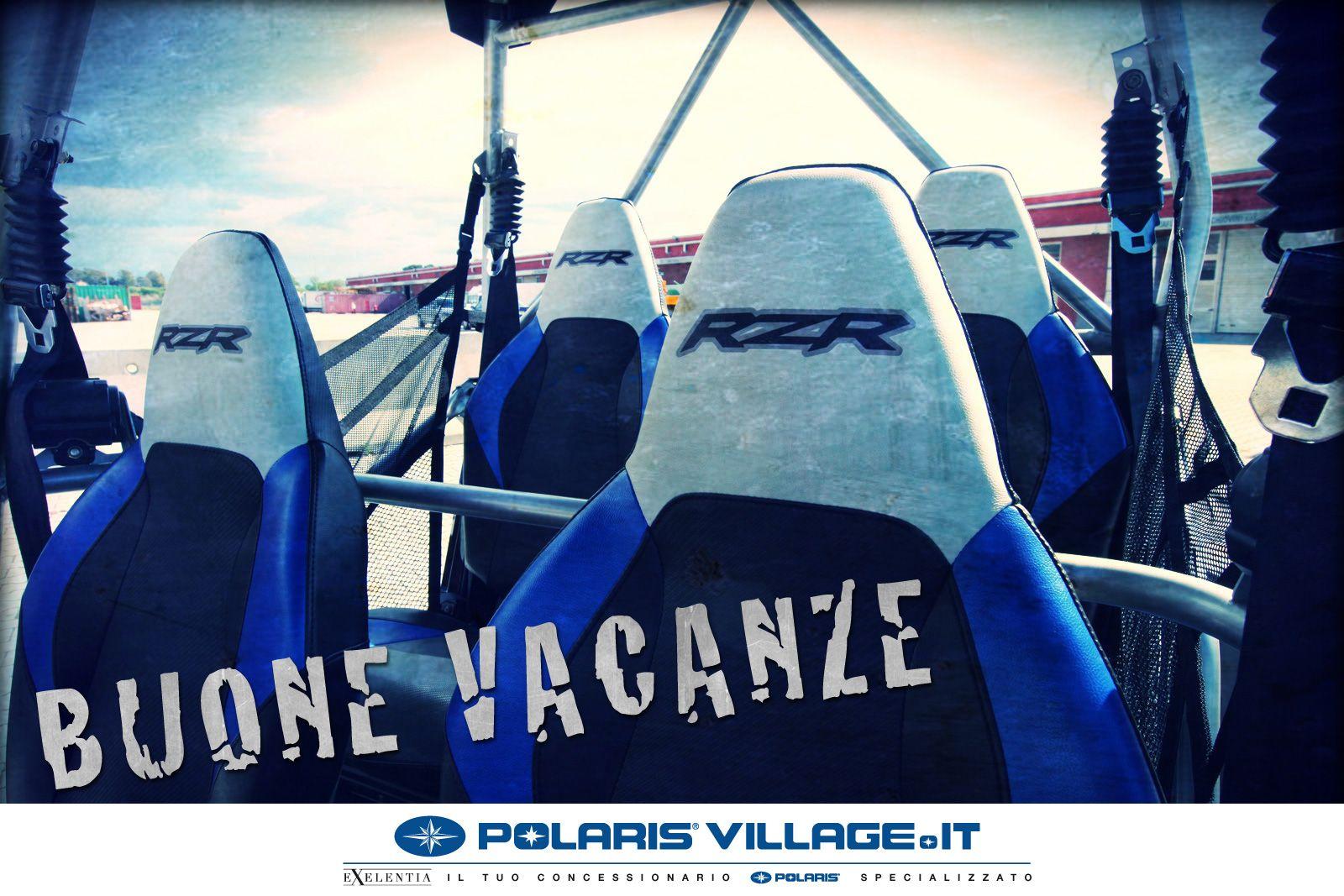 Manca poco oramai, e anche il team Polaris Village andrà vacanza... quale momento migliore per divertirsi su un quad Polaris?