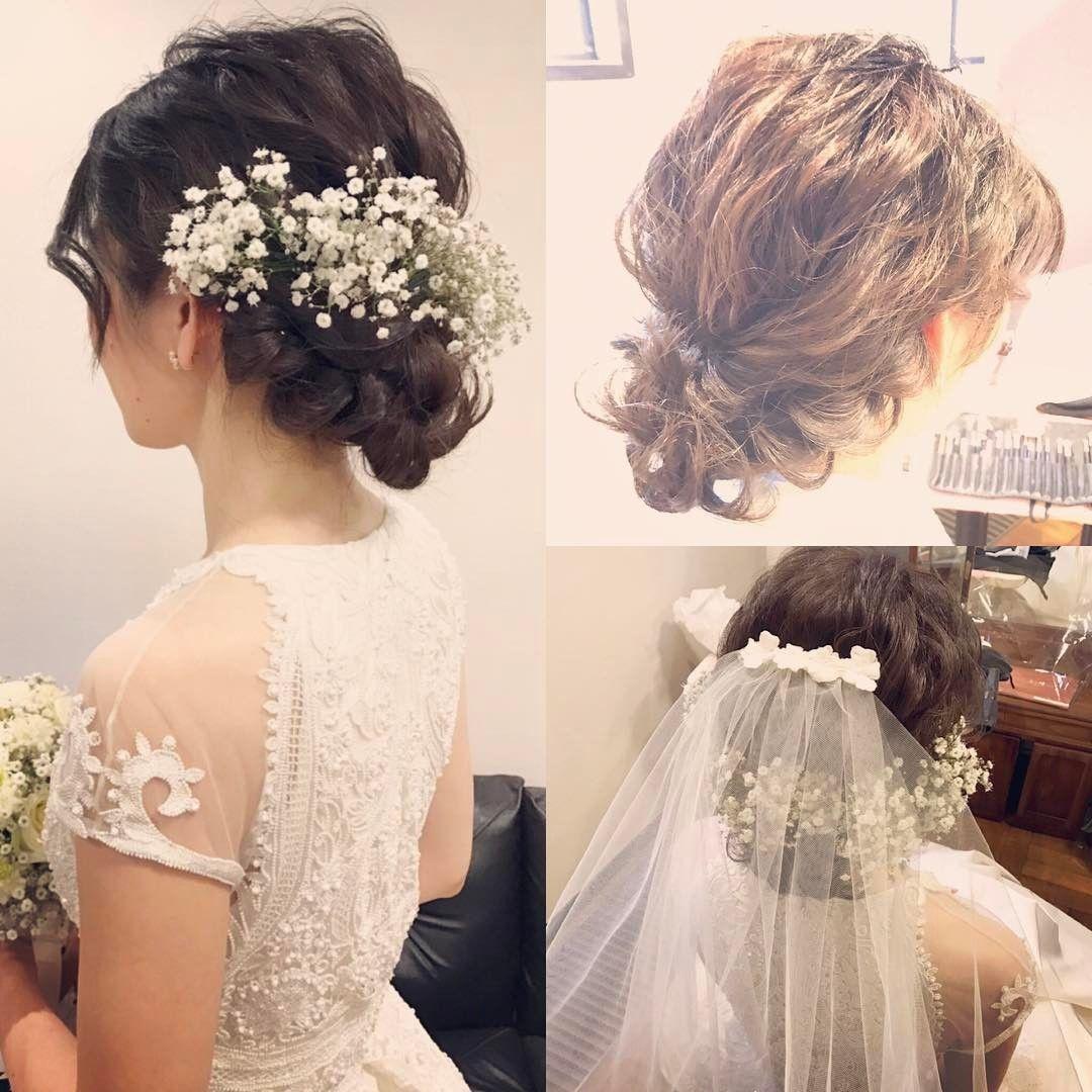 Wedding Hairstyle Hairmake Chiho ブライダル