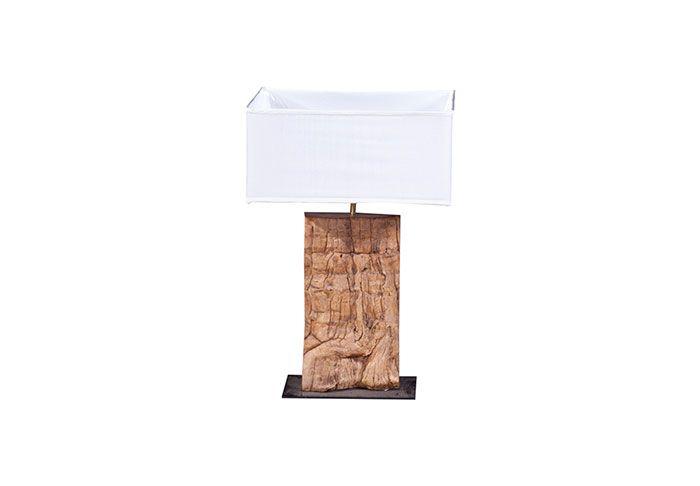 TH63853 / Slice Wood Table Lamp